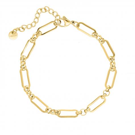 Enkelbandje open chains goud kleurig