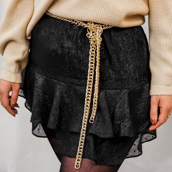 Trendy chain belt voor een mooie look