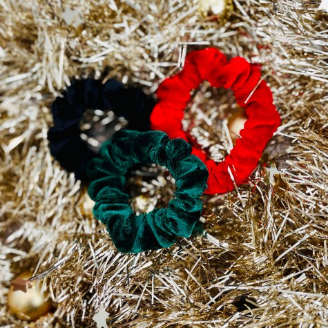 Velvet scrunchie set XMAS