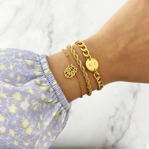 Goudkleurige armbanden shoppen