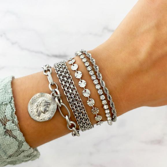 zilveren armbanden met chains