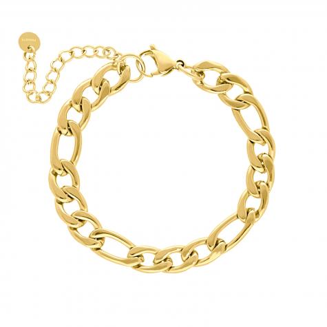 Armband chunky chain goud kleurig