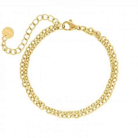 gouden dubbele armband