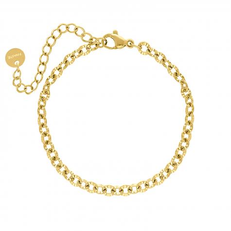Musthave schakelarmbandje kleur goud