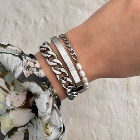 Armband Chain & Pearl
