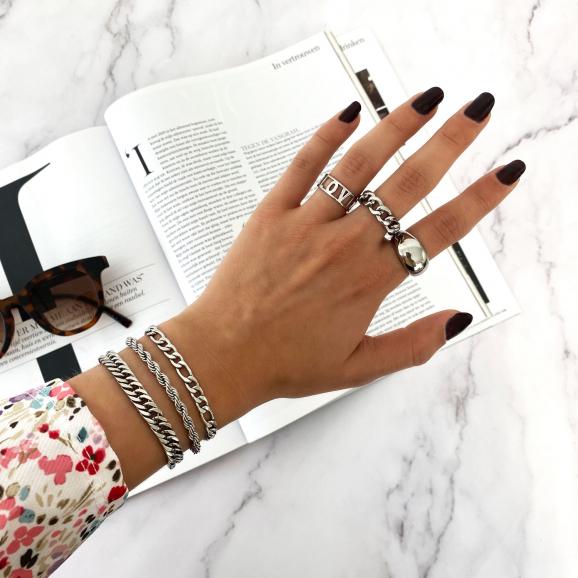 Mooie trendy ringen met een chunky touch