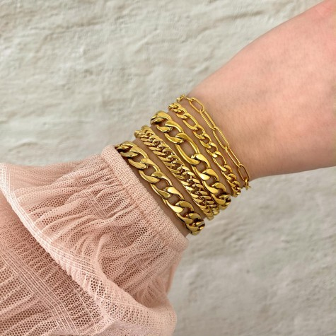 Armband Musthave Chain Goud Kleurig