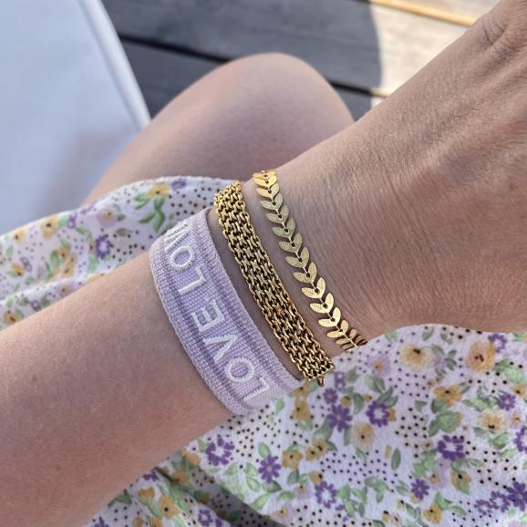 Trendy armbanden shoppen in het goud
