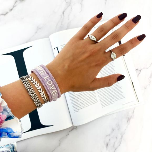 Mooie mix van zilveren sieraden