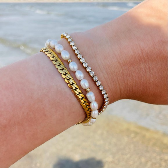 Complete armparty set om pols