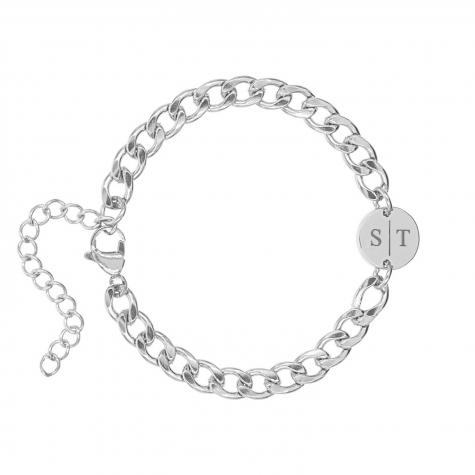Armband Chunky 2 initials