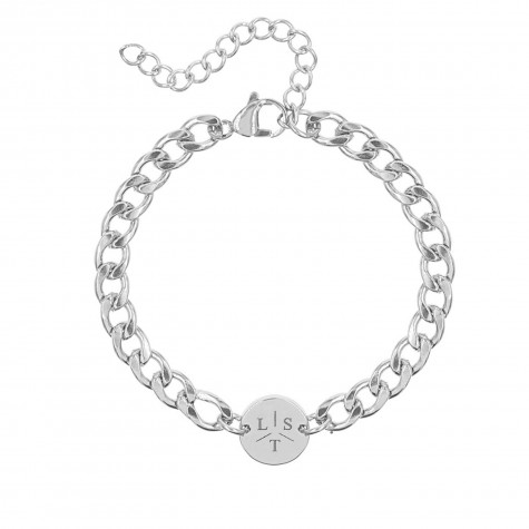 Armband Chunky 3 initials