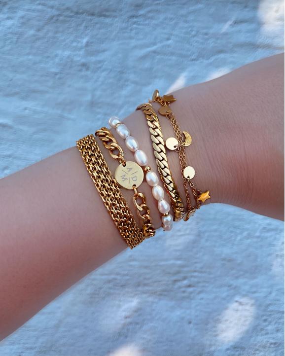 gouden armbandjes voor trendy look