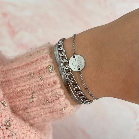 Armband Met Vier Initialen