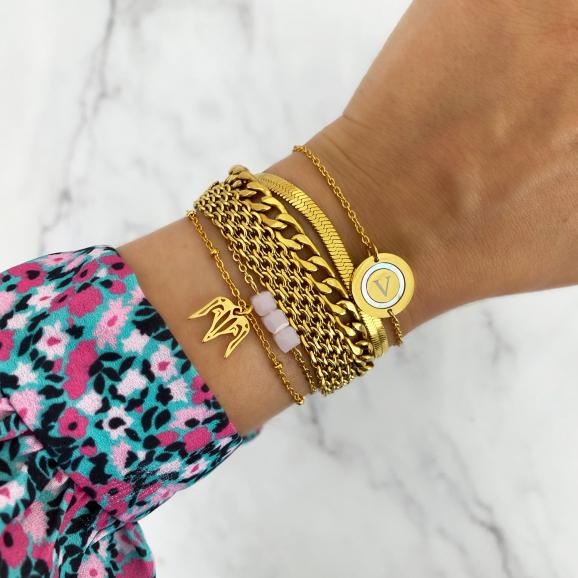 gouden armbanden party mix