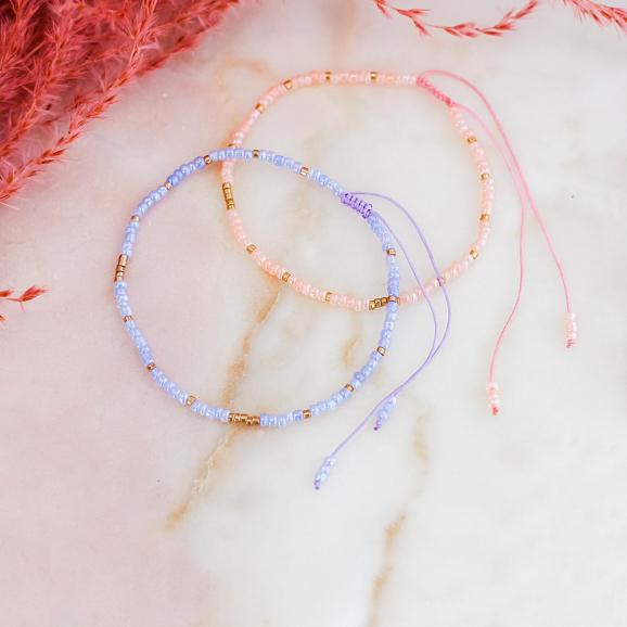 Trendy armbandje met kraaltjes voor een mooie look