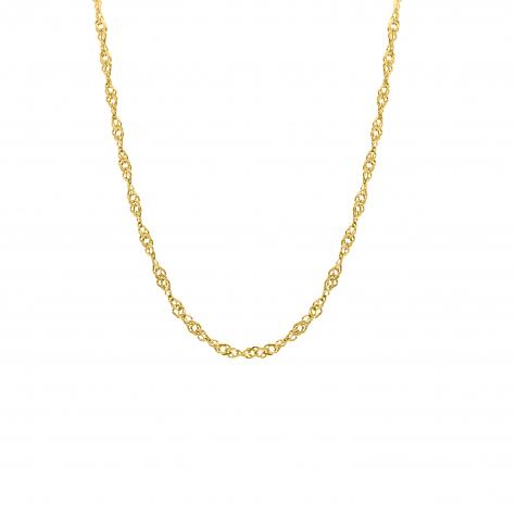 Ketting met chains goud kleurig