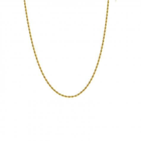 Gedraaide chain ketting goud kleurig