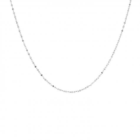 Zilveren minimalistische ketting fijn