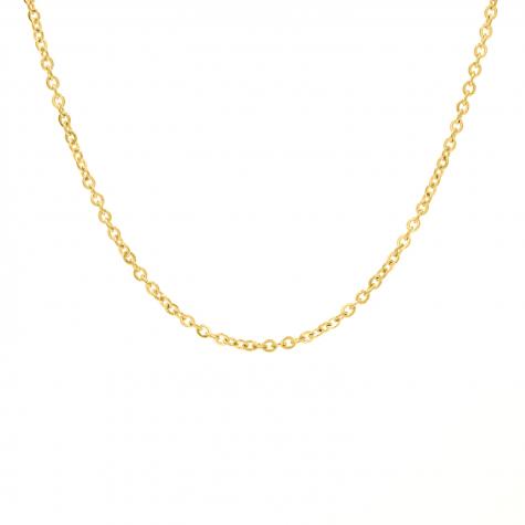 Gouden minimalistische ketting met schakeltjes mini