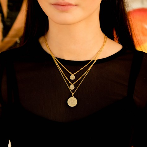 Quote Ketting Party Goud