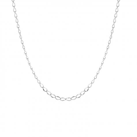 Minimalistisch kettinkje zilver