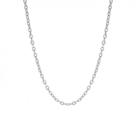 Chain ketting fijn zilver