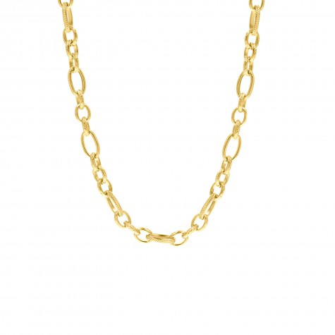 Schakelketting mix goud