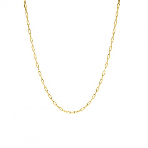 Minimalistische chain ketting goud
