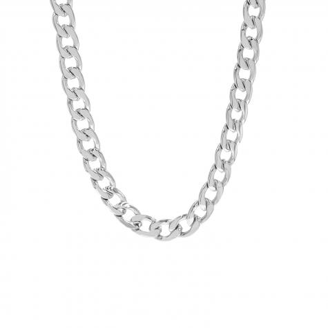 Big chain ketting zilver