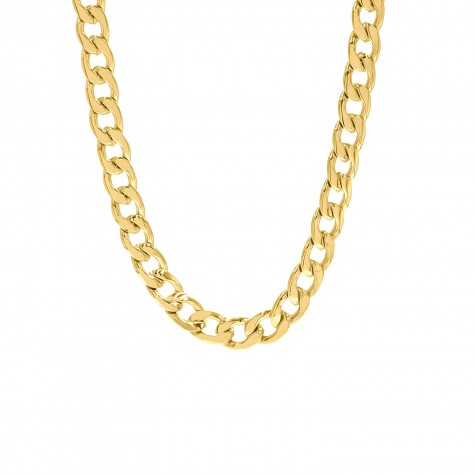 Big chain ketting goud