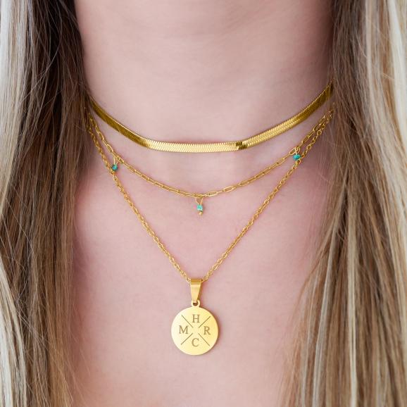 goudkleurige sieraden voor een complete look om te shoppen