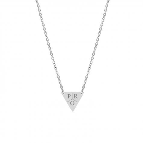 Ketting 3 initialen driehoek