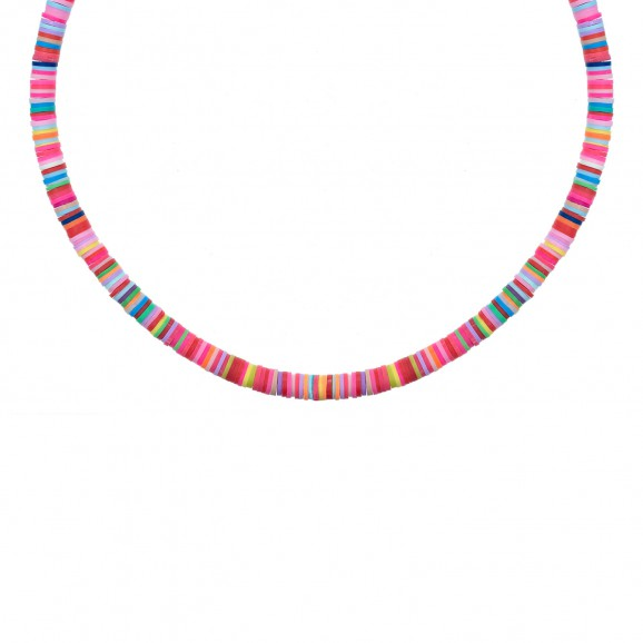 Ketting gekleurde kraaltjes