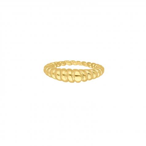 Chunky ring kleur goud