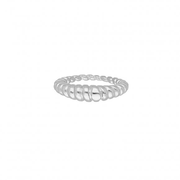 Chunky ring kleur zilver