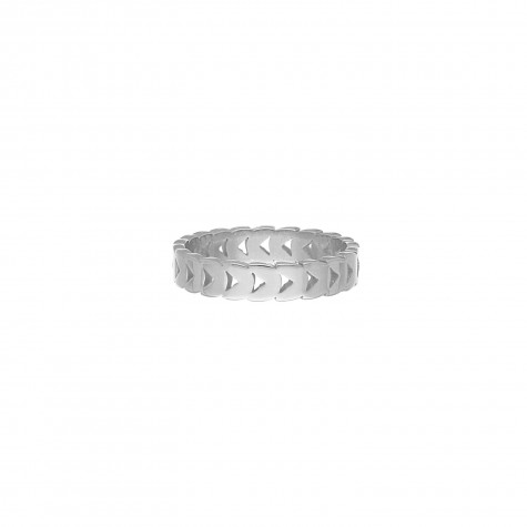 Chunky musthave ring kleur zilver