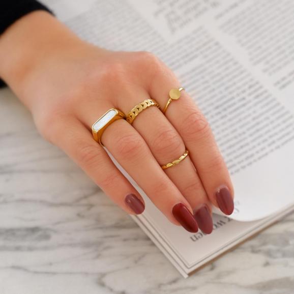 Mooie ringen om te kopen voor een trendy look
