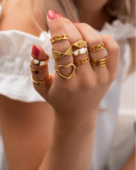 Mooiste collectie ringen in het goud