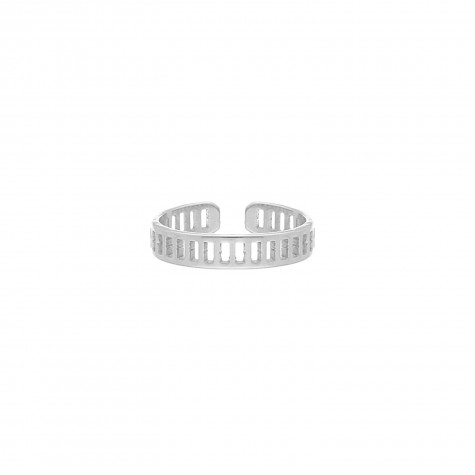 Verstelbare Ring Streepjes
