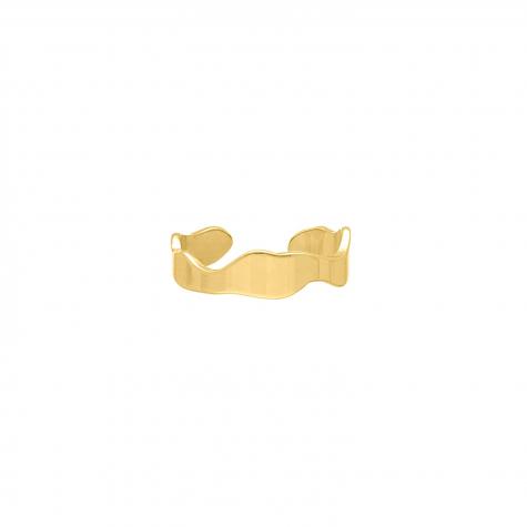 Verstelbare Ring Golvend Goud Kleurig