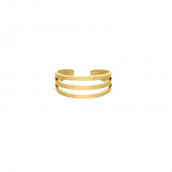 Ring multiple kleur goud