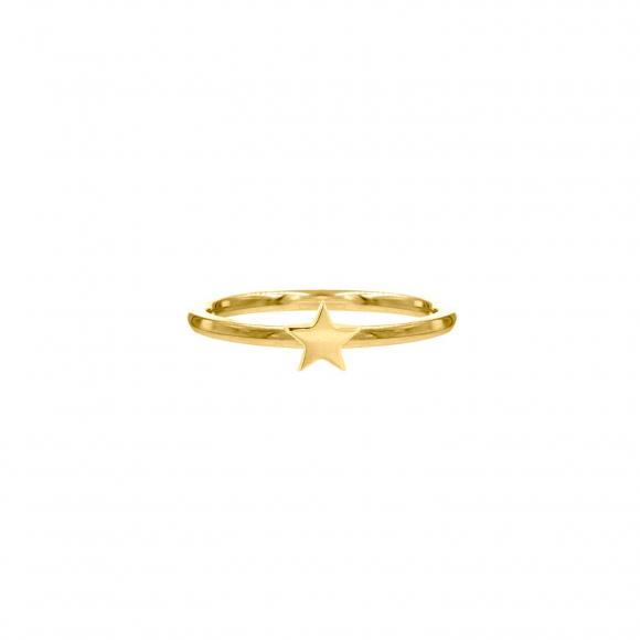 Sterretjes Ring Goud kleurig