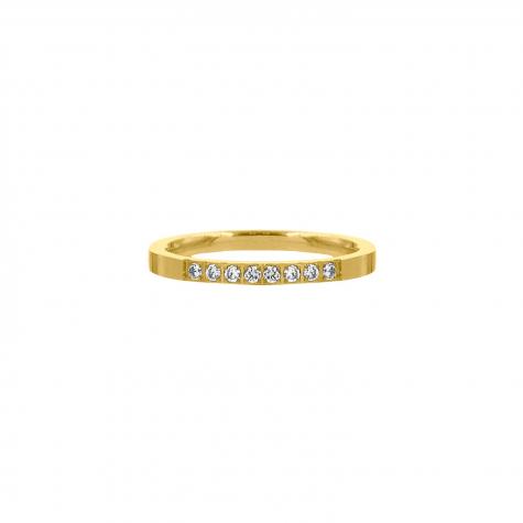 Ring met steentjes goud