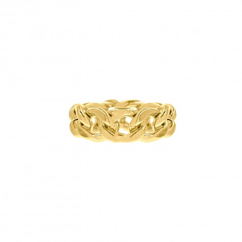 Chain ring goud