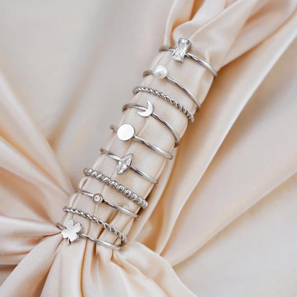 Ringen kopen om te shoppen voor een mooie look