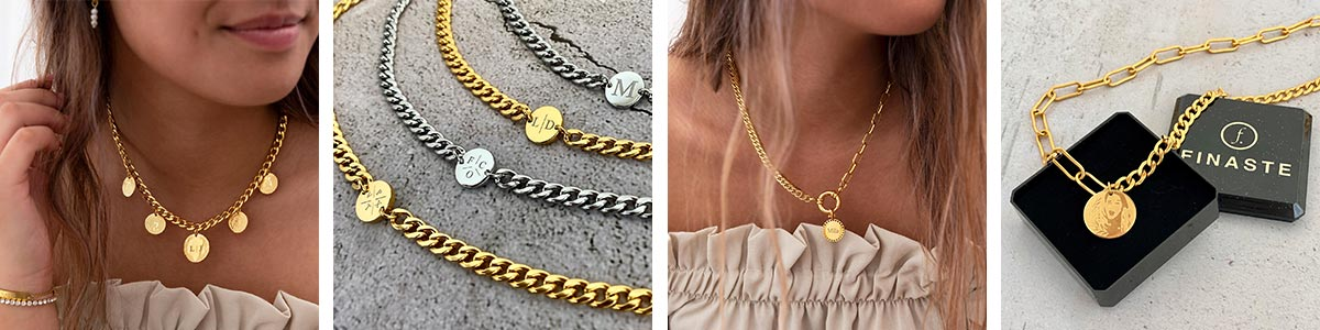 Mooie chunky chain kettingen voor een casual look