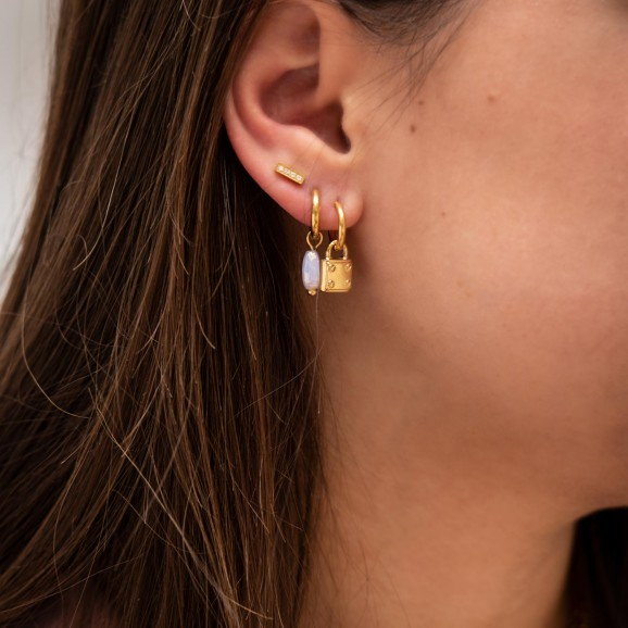 Mooie gouden earparty om je dagelijkse look compleet te maken