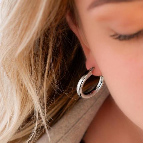 Musthave oorringen kleur zilver