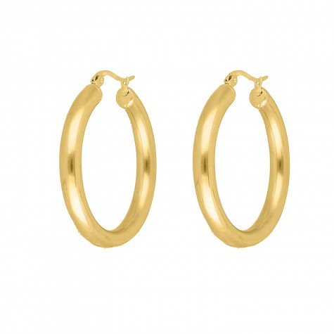 Big musthave hoops goud kleurig